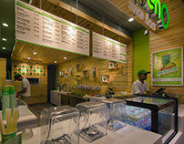 Greeno Juice Bar - Retail Design