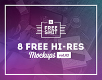 #FreeShit vol.3 - 8 Free Hi-Res iPhone & MacBook