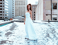 Rooftop Columbus + Ghinda Bridal Couture