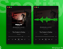 Spotify Miniplayer