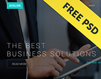 Avalon - Free Corporate PSD