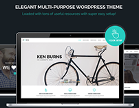 Paris - Multi-Purpose WordPress Theme