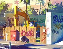 Street environment concept