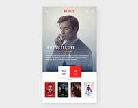 UI Design - Netflix App