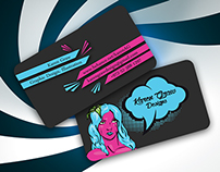 Karen Graw Business Cards - Concept 2