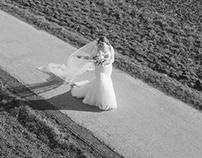 Bridal Drone Wedding Photography