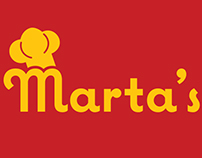 Marta's Spanish Kitchen - Logo + Web Design