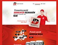 Duńczyk Paczka Website / baner / bus wrap