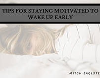 Tips for Staying Motivated to Wake up Early