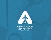 ASFARY.COM Logo Design/1