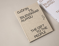 Gjöfin til íslenzkrar alþýðu / The gift to the people