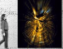 Obra de arte pictórico digital de Ribes