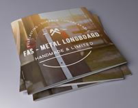 FAS - Metal Longboard - 2017 product catalog -