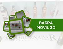 DISEÑO BARRA MOVIL BAR 3D