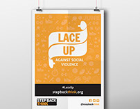 Step Back Think | Lace Up Campaign 2015