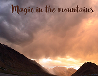Photo-book -Magic in the mountains