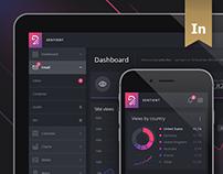 Sentient - Dashboard UI