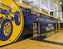 Fordson HS Gym Wall Wrap