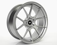 Vorsteiner VFE-401 Wheel - 3D Model