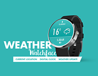 Weather Watch Face for Android Wear