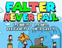Album Cover for Falter Never Fail