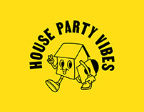 House Party Vibes Branding