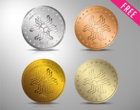 FREE COINS CONSTRUCTOR IN PSD