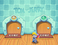 Tom & Jerry - Moble Game UI