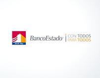 Animación de logo - BancoEstado - Chile