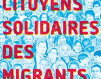 Citoyens solidaires – Poster for a citizen movement