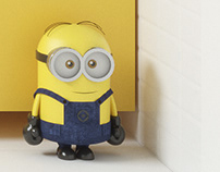 Kids bathroom with mimons #ceramicaVOGUE