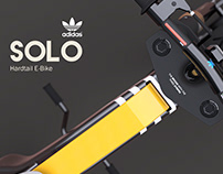 SOLO - Adidas Hardtail E-bike