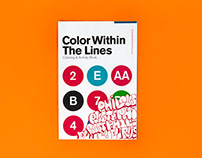 Color Within The Lines Coloring Book