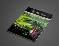 Wine form Italy: Brochure Design, Flyer, Banner
