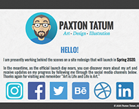 Personal Portfolio - Web Design Coming Soon Page