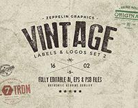 Vintage Logos Set 2