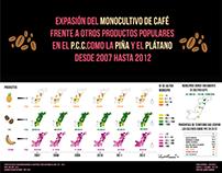 Teoría U.I.I. Colombia - Infografía Monocultivo de Café