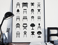POSTER // Chair Designs 2