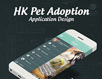 HK Pet Adoption App Design