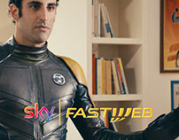 Matte Painting Sky Fastweb Commercial