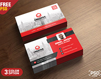 Corporate Business Card PSD Template
