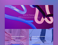 Landing Page for Kolaborasi Project