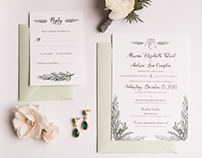 Wedding Stationery—Greenery & Grace