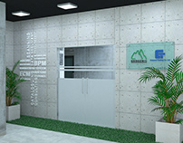 Office Interior Design of Document store company