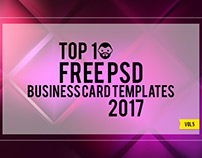 Business CardsTop 10 Free PSD Business Card Templates