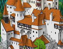 City life. Dracula's Castle
