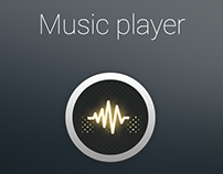 Music player vintage Icon by Next.Art