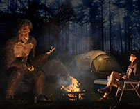 Camping With Bigfoot