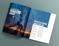 17 Open Magazine Mockups Vol. 8