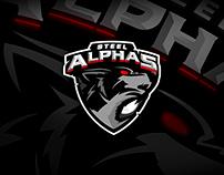 Steel Alphas - Logo Design